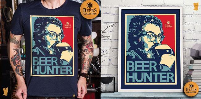BEER HUNTER - Uma homenagem ao jornalista cervejeiro, Michael Jackson.