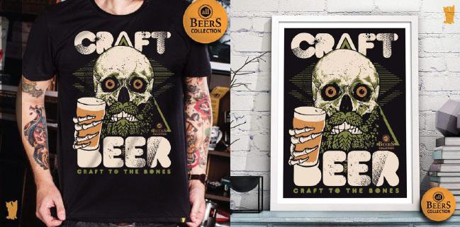 CRAFT BEER TO THE BONES - Para todos que amam cerveja artesanal.