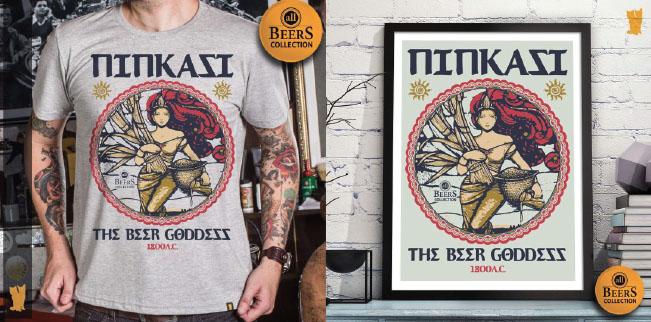 NINKASI - Um tributo para deusa da cerveja.