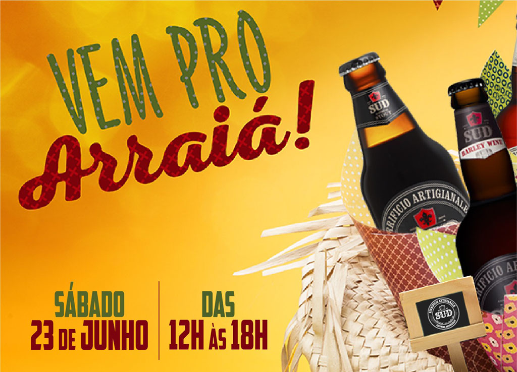Além das tradicionais atrações da festa junina, o evento inclui as cervejas da SUD (Foto: Divulgação)