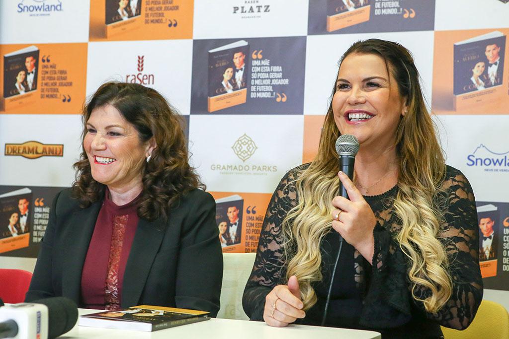 Dolores e Kátia Aveiro (Foto Divulgação)