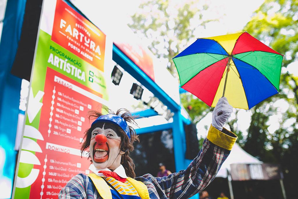 O festival Fartura, que percorre o Brasil - na imagem acima Porto Alegre, também chegou à Europa (Foto: Denison Fagundes/Divulgação)