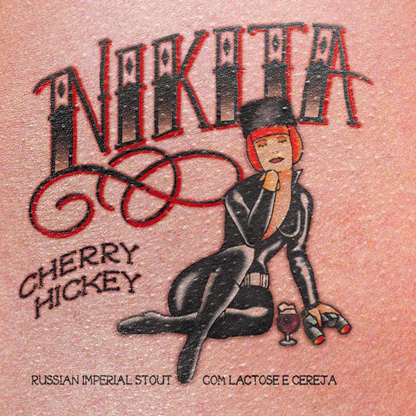 O design do rótulo da Nikta Cherry Hickey (Foto: Divulgação)