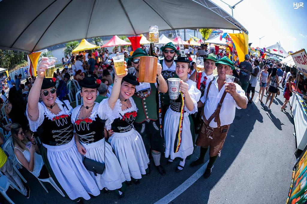 Evento segue a tradição das festas germânicas (Foto: Heliakim Jr/Divulgação)