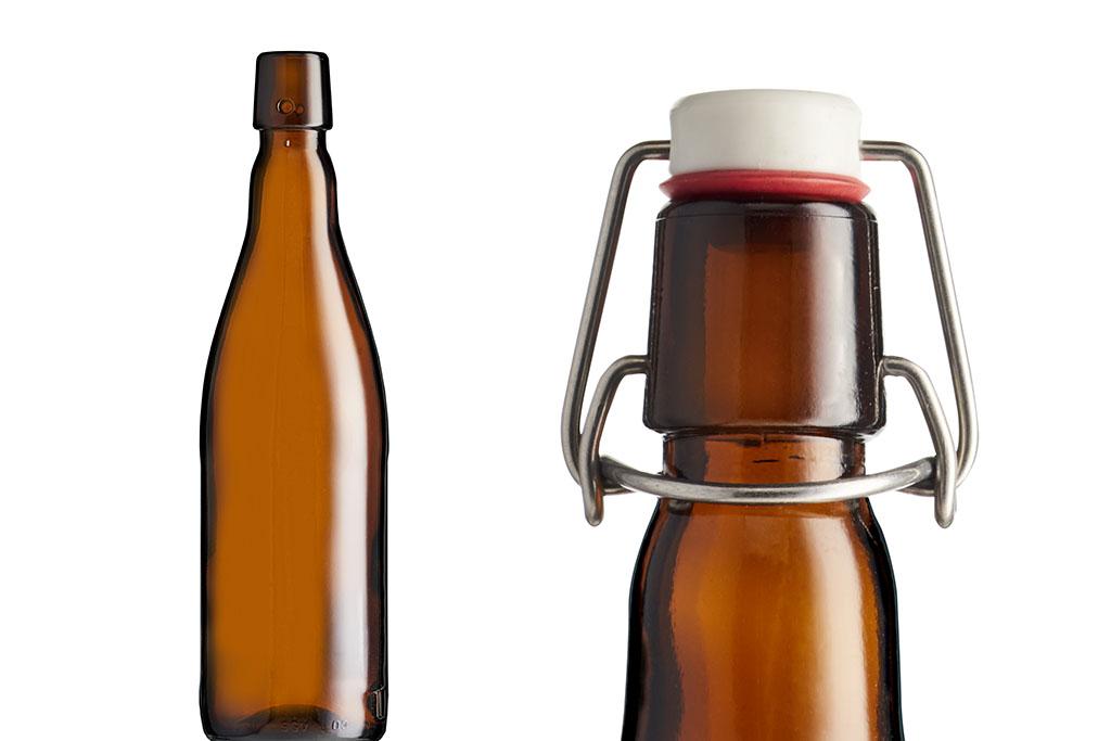 Com corpo robusto, a nova garrafa permite tanto a rotulagem quanto a pintura do vidro (Foto: Divulgação)