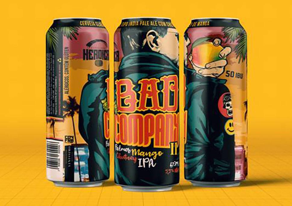 De coloração âmbar e médio amargor, a cerveja incorpora o Chutney de Manga Palmer combinado com os lúpulos cítricos das autênticas American IPAs (Foto: Divulgação)