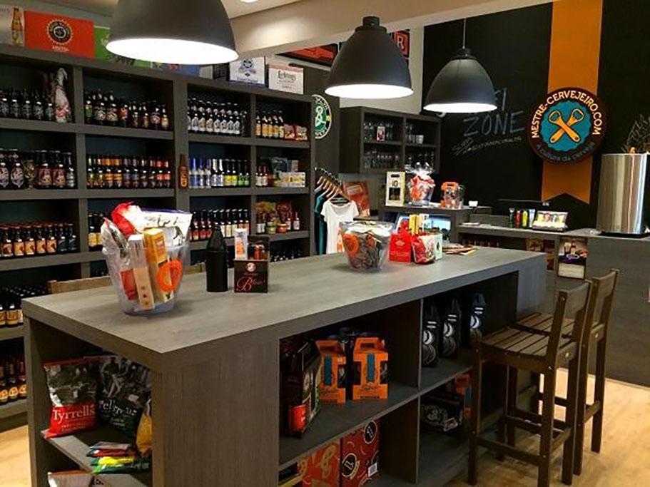 Rede de lojas Mestre-Cervejeiro.com tem unidades por todo o país (Foto: Divulgação)