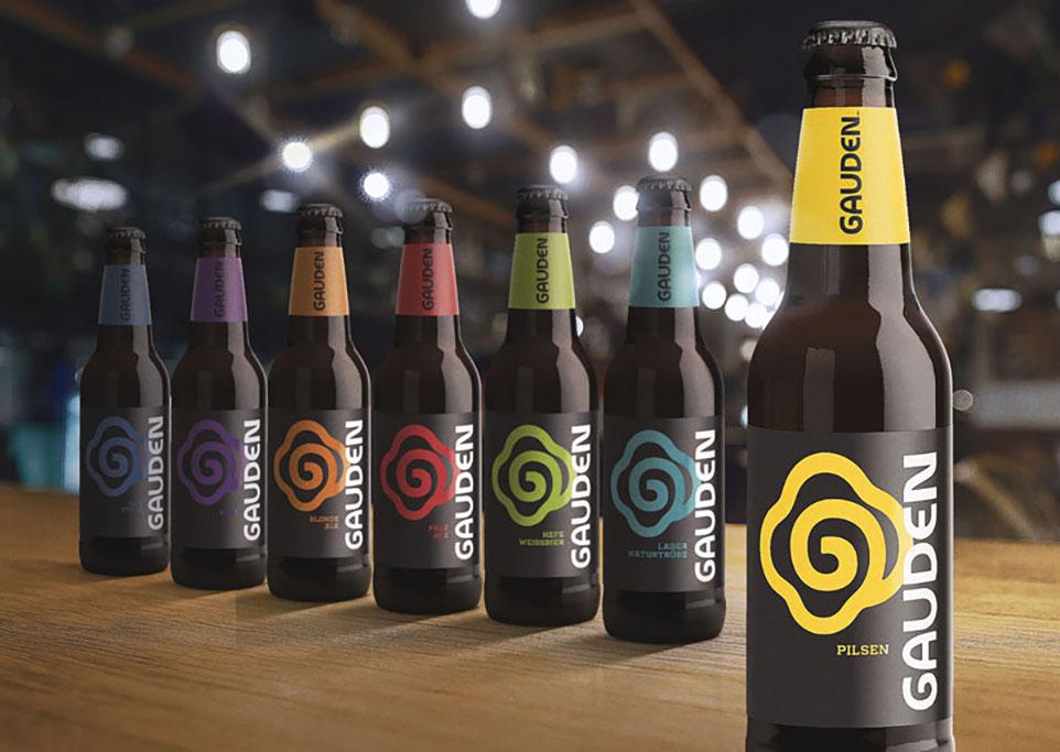 O design da cervejaria paranaense Gauden Bier evoluiu para a simplicidade com sofisticação (Foto: Divulgação)