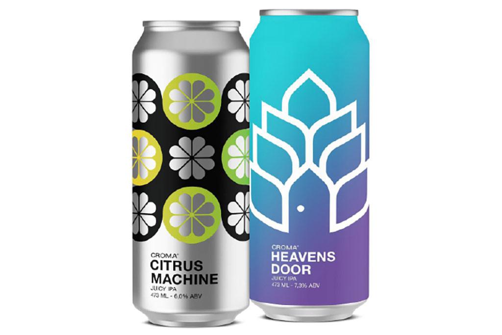 Confira nas fichas as diferenças entre as duas novas cervejas da Croma (Foto: Divulgação)