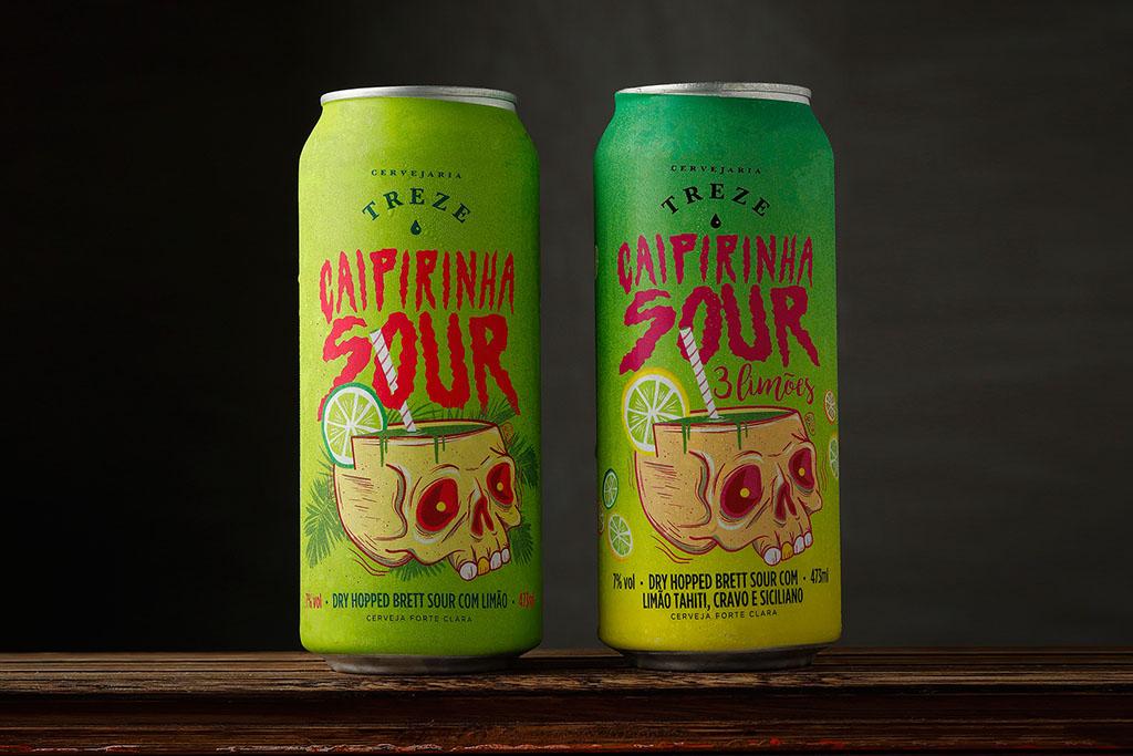 Nova cerveja vem com duas versões (Foto: Divulgação)