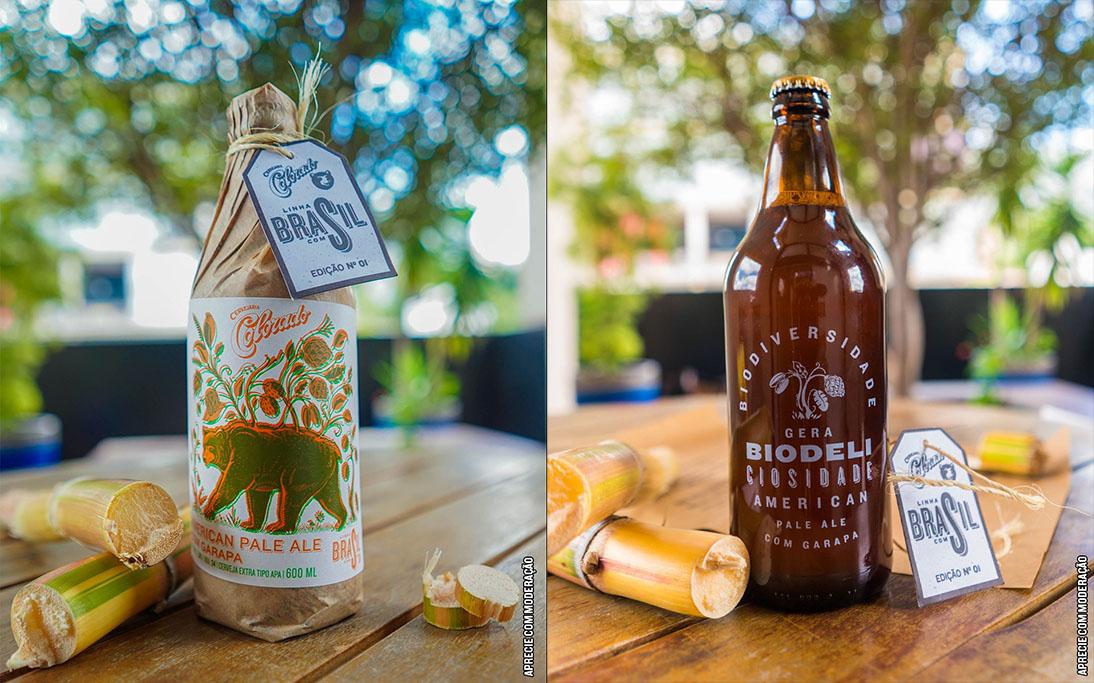 As garrafas serão serigrafadas, um lado com uma ilustração especial e o outro com lemas da cervejaria, e embaladas manualmente com papel de pão que traz um manifesto traduzindo o espírito da linha (Fotos: Divulgação)