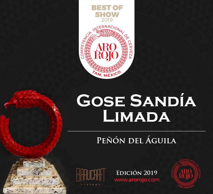A melhor cerveja no concurso Aro Rojo 2019 (Foto: Divulgação)