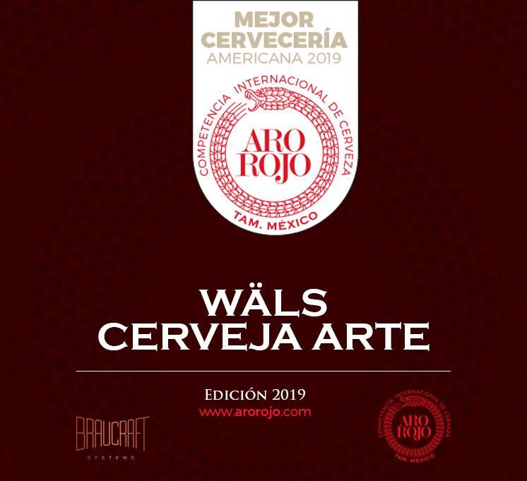 A melhor cervejaria no concurso Aro Rojo 2019 (Foto: Divulgação)