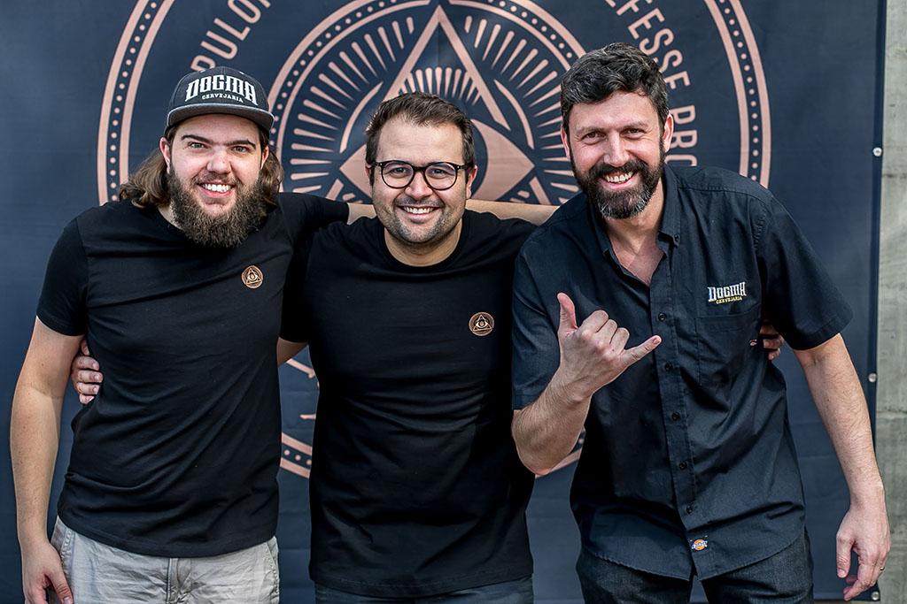 Luciano Silva, Bruno Moreno de Brito e Leonardo Satt (Foto: Divulgação)