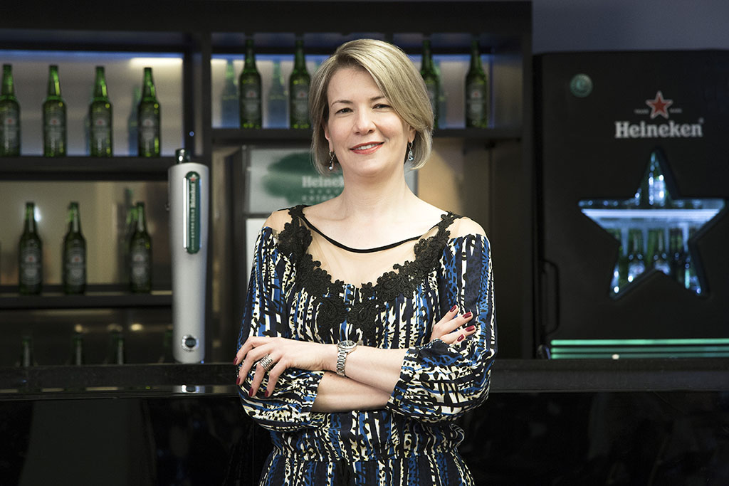 Nelcina Tropardi, vice-presidente de Assuntos Corporativos do Grupo Heineken no Brasil (Foto: Edna Marcelino/Divulgação)