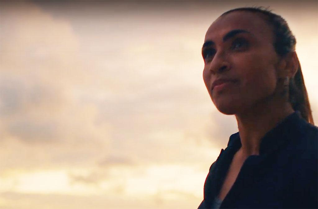 Marta exibe recordes que nenhum craque masculino atingiu (Foto: Reprodução de vídeo)