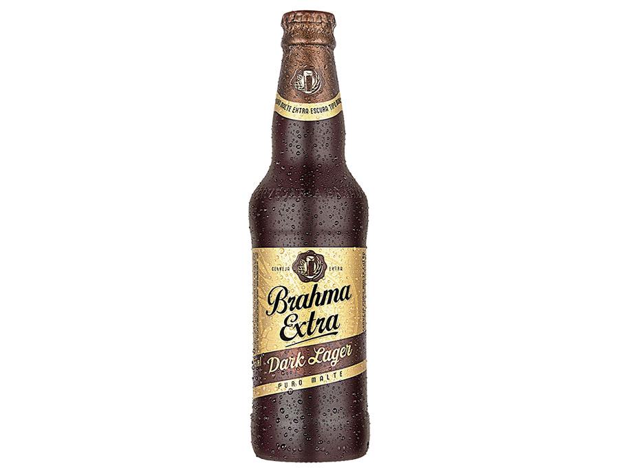 A Brahma Extra Dark Lager integrará o portfólio fixo da Brahma Extra, que já conta com a Lager, a Red Lager e a Weiss (Foto: Divulgação)