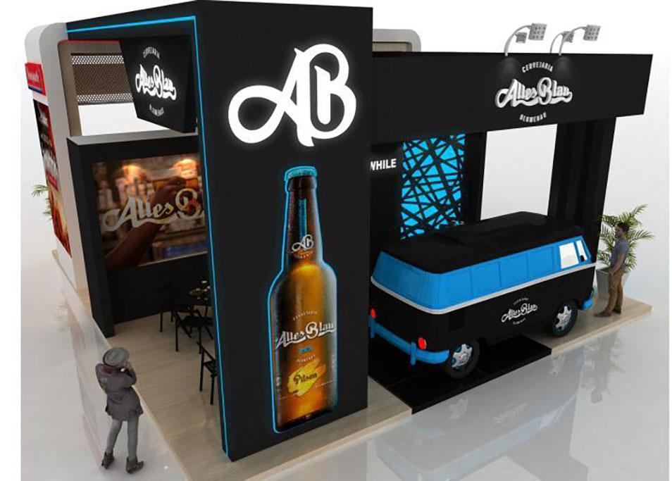 São cinco formatos de negócio oferecidos pela cervejaria de Blumenau em aliança com o Grupo Bonaparte (Foto: Divulgação)