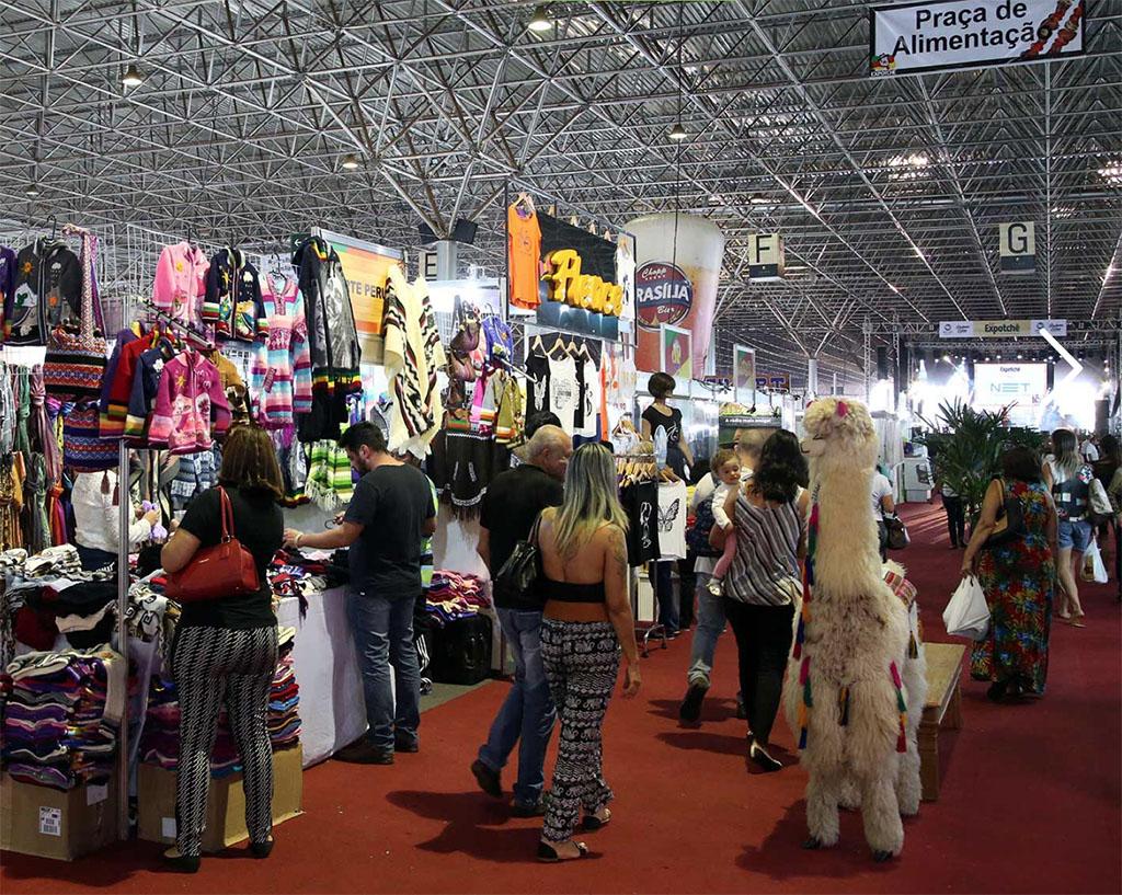 Evento ocorre no Pavilhão de Exposições do Parque da Cidade (Foto: Divulgação)
