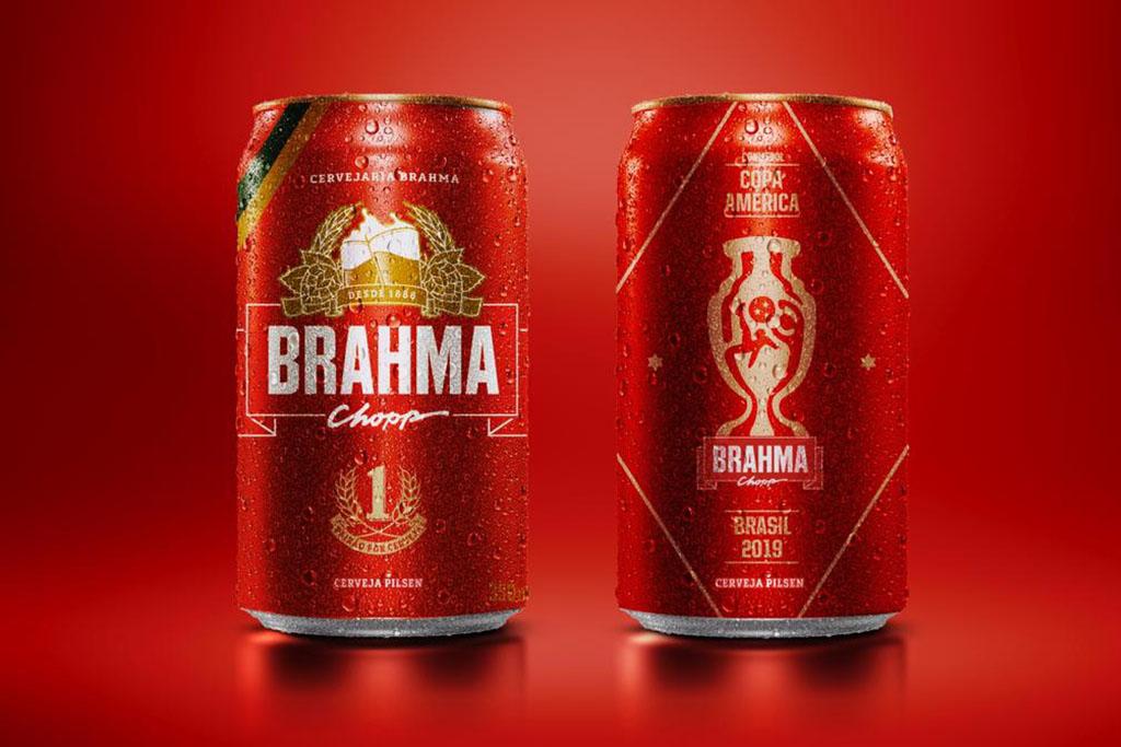 Brahma é patrocinadora oficial da CONMEBOL Copa América Brasil 2019 (Foto: Divulgação)