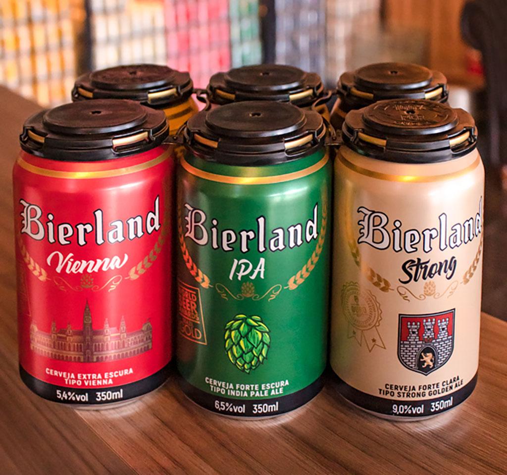 A estratégia está concentrada em seis estilos de mais apelo para os apreciadores da Bierland (Foto: Divulgação)
