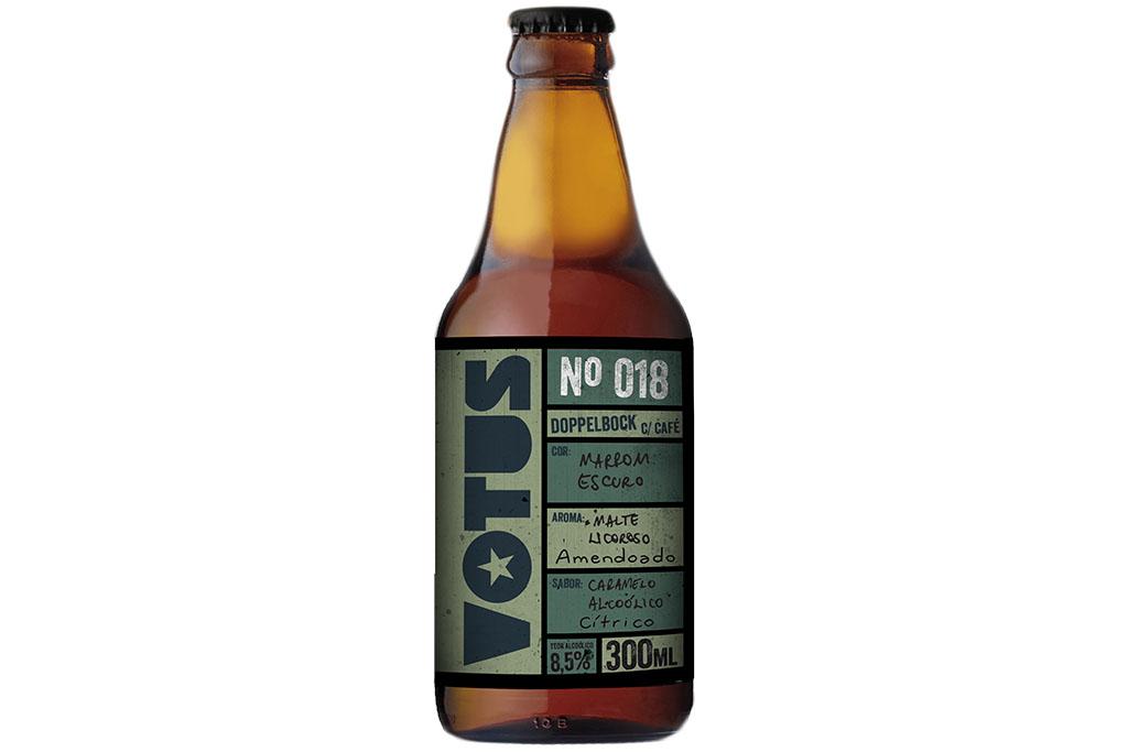 Base da receita da Votus nº 018 é a cerveja eleita a melhor Strong Lager do mundo no World Beer Awards 2017 (Foto: Divulgação)