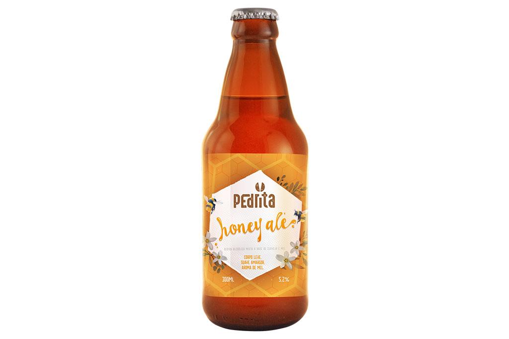Honey Ale é a terceira cerveja da linha Pedrita (Foto: Divulgação)
