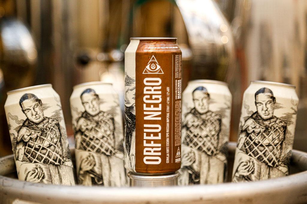 Com 12% de teor alcoólico, a Orfeu Negro é uma cerveja extremamente complexa (Foto: Divulgação)