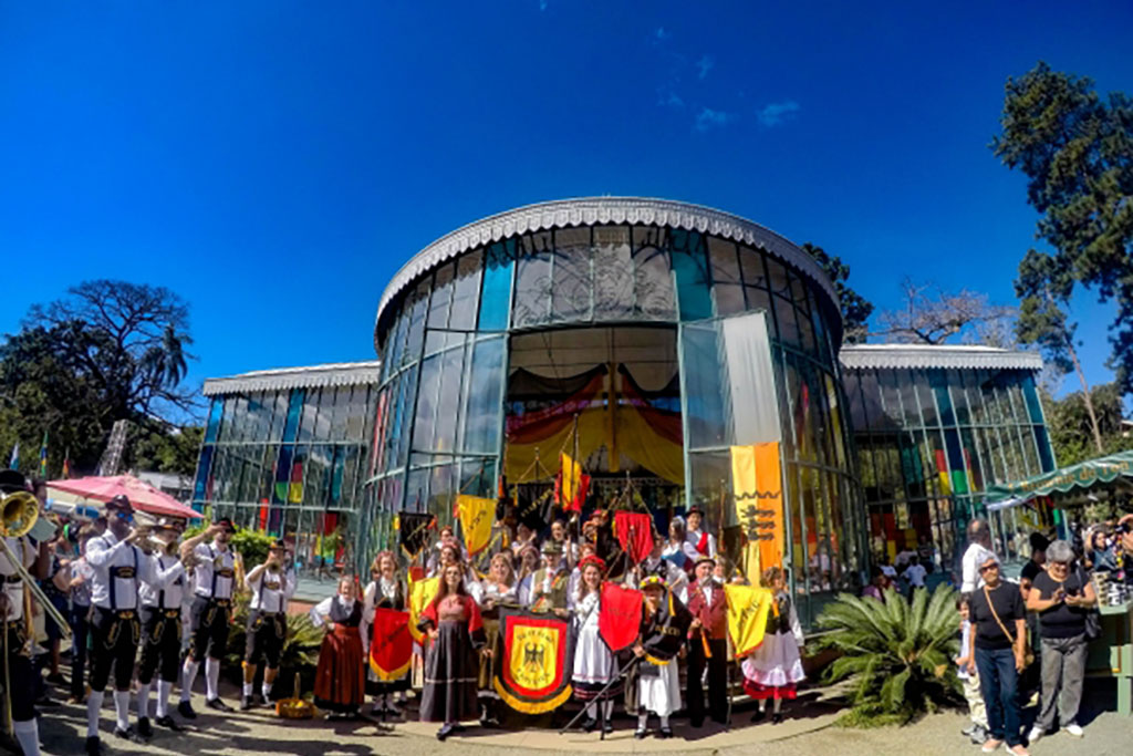 Festa do Colono Alemão em Petrópolis oferece diferentes atrações e palcos (Foto: Edgar Pujol/Divulgação)