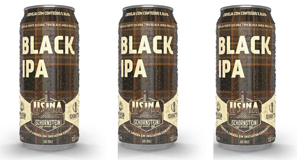 Black IPA é o quinto lançamento da Usina Schornstein (Foto: Divulgação)