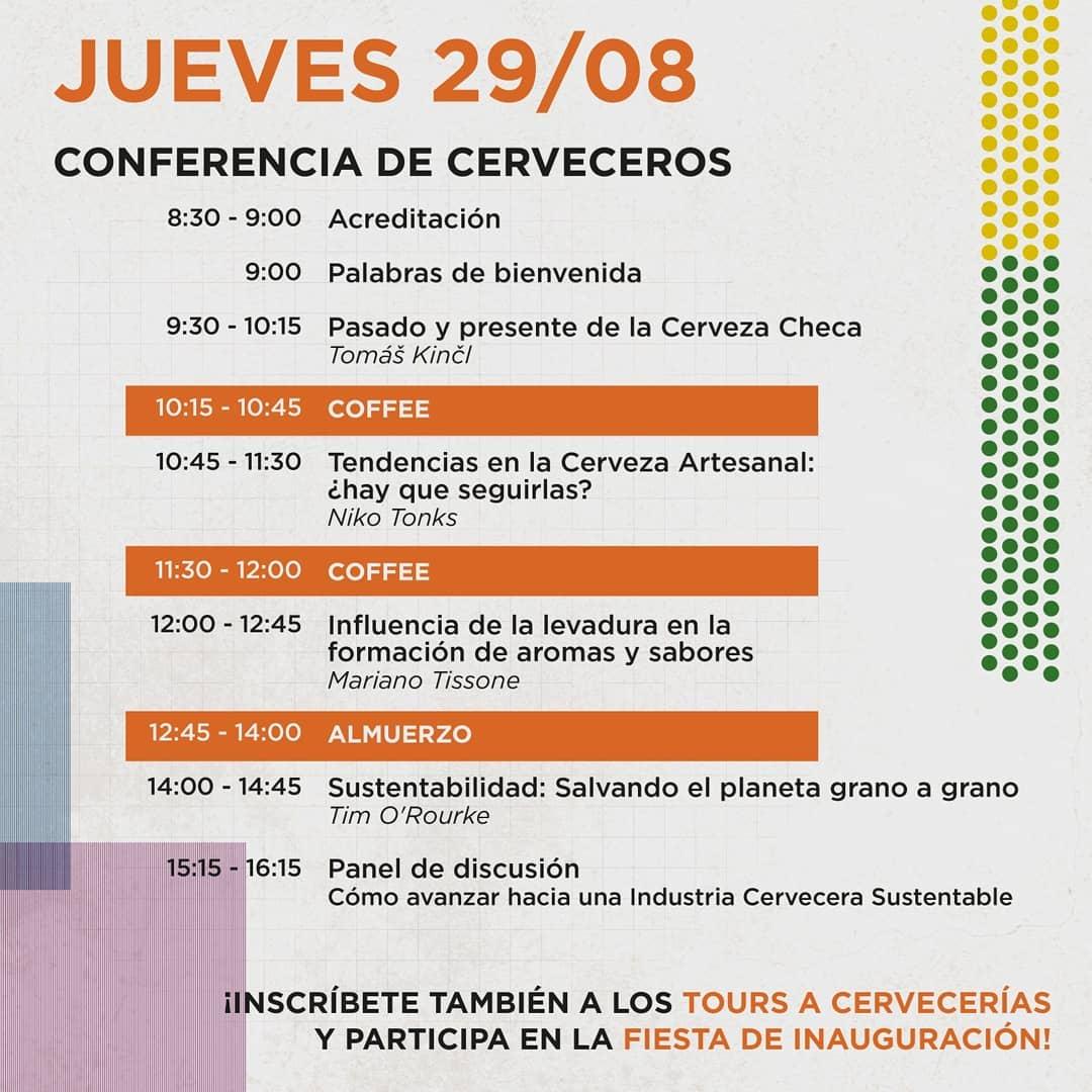 A programação de quinta-feira, 29 de agosto, em Valparaíso