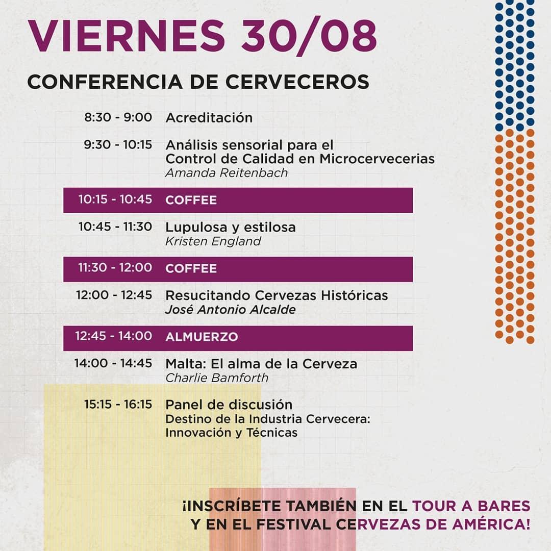 A programação de sexta-feira, 30 de agosto, em Valparaíso