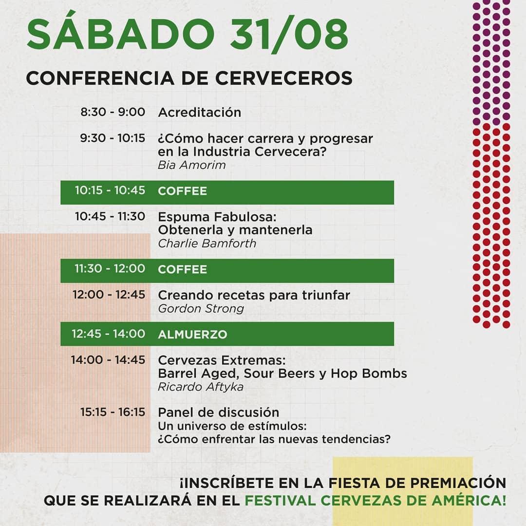 A programação de sábado, 31 de agosto, em Valparaíso