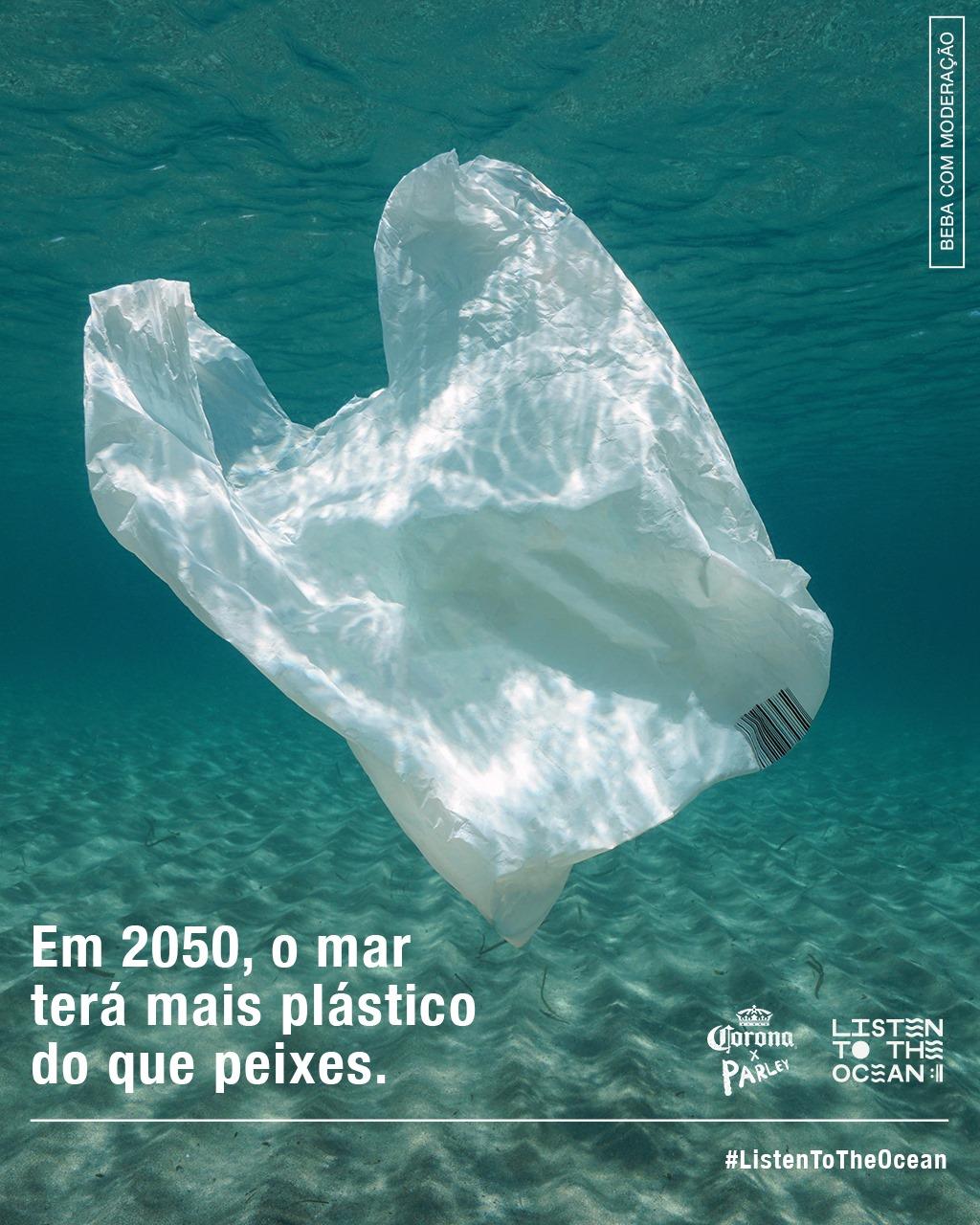 Campanha tem um conjunto de ações com a ONG Parley  (Foto: Divulgação)