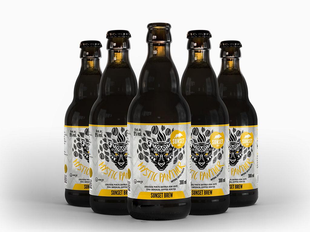 Antes de lançada, Mystic Panther brilhou no Concurso Brasileiro de Cervejas e na South Beer Cup (Foto: Divulgação)