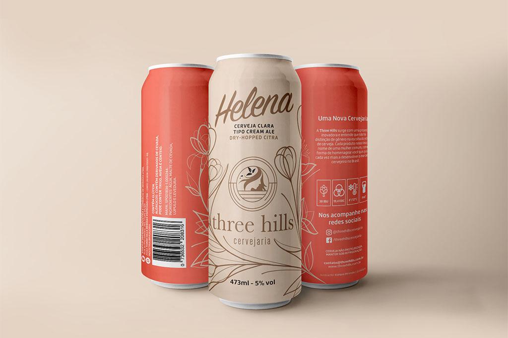 A Cream Ale ganha nova versão e a companhia da APA Luiza (Foto: Divulgação)