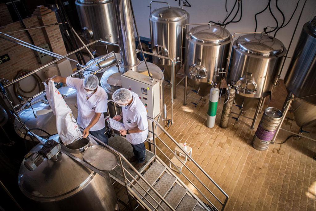 Três opções de cerveja foram preparadas para a festa de inauguração (Foto: Divulgação)