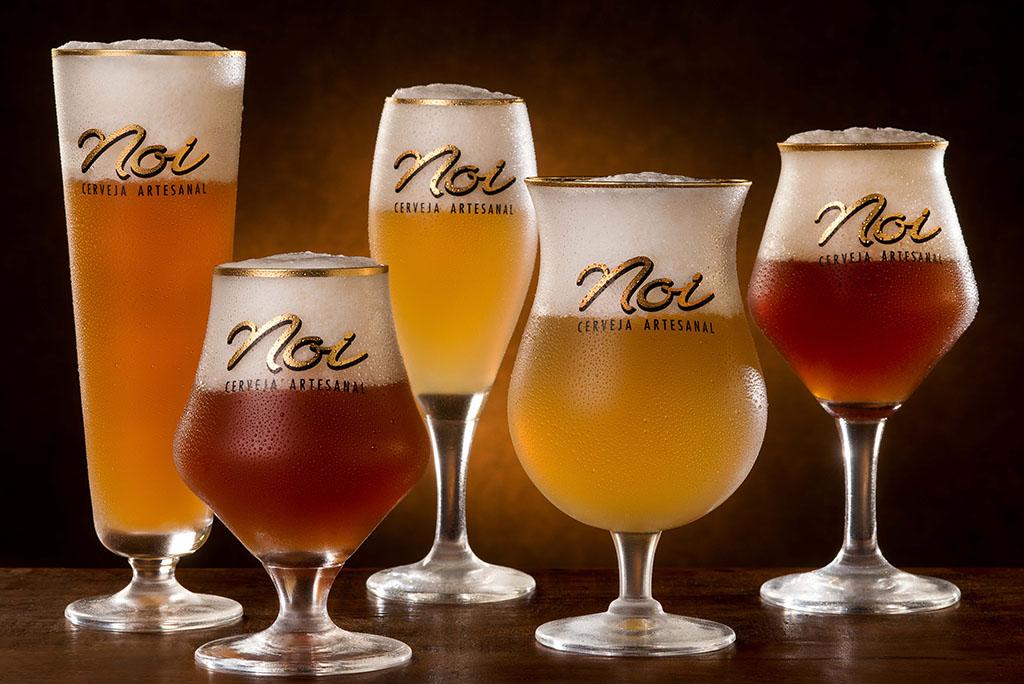 São 15 opções no estande da Noi no Mondial de La Bière Rio 2019 (Fotos: Alexander Landau/Divulgação)
