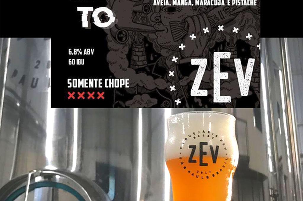 Com teor alcoólico de 6,8% e amargor de 60 IBUs, a cerveja apresenta cor amarelo brilhante, aroma de manga e maracujá (Foto: Divulgação)