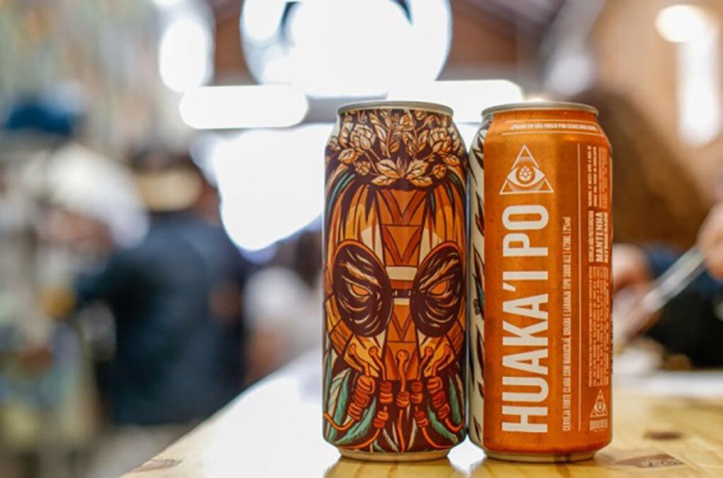 Para quem é fã de cervejas com teor alcoólico baixo, a Huaka´I Po é uma opção, já que tem apenas 2% (Foto: Divulgação)