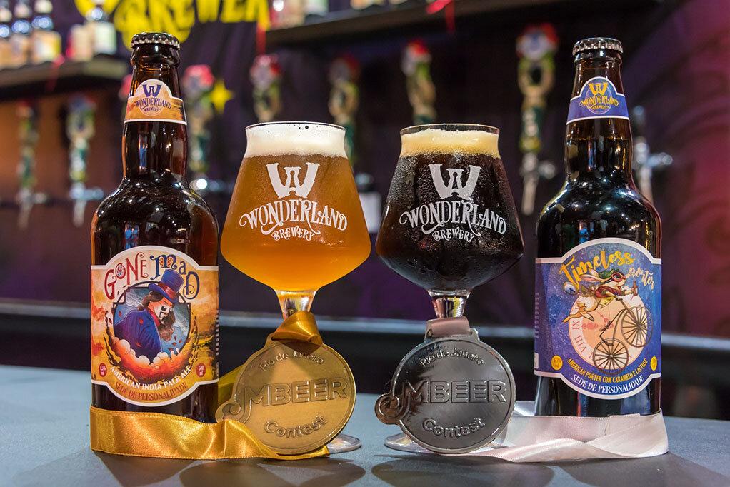 As premiadas da Wonderland no Mondial de La Bière Rio 2019 (Foto: Divulgação)