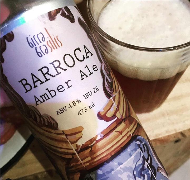 Barroca é uma das seis opções de cerveja nas torneiras (Foto: Divulgação)