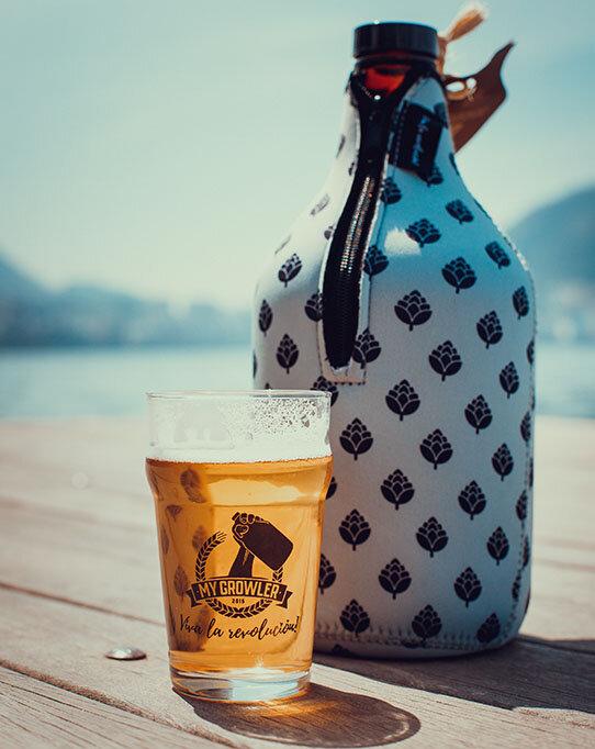 A cerveja da ação é a Pilsen Galo Véio da Cervejaria Galeza (Foto: Divulgação)