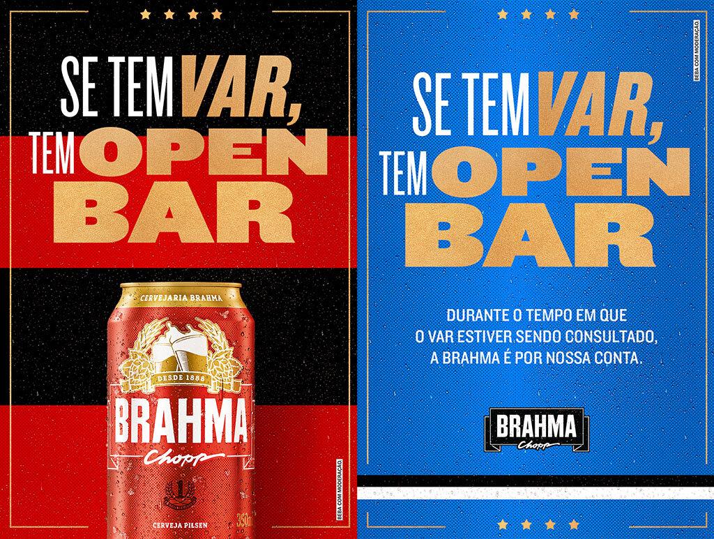 Marca de cerveja é patrocinadora de ambas as equipes que disputam vaga na final da Libertadores (Foto: Divulgação)
