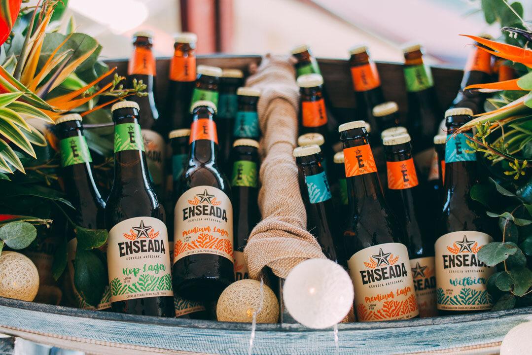 Cerveja éfabricada em Saquarema, na Região dos Lagos fluminense (Foto: Thiago Britto/Divulgação)