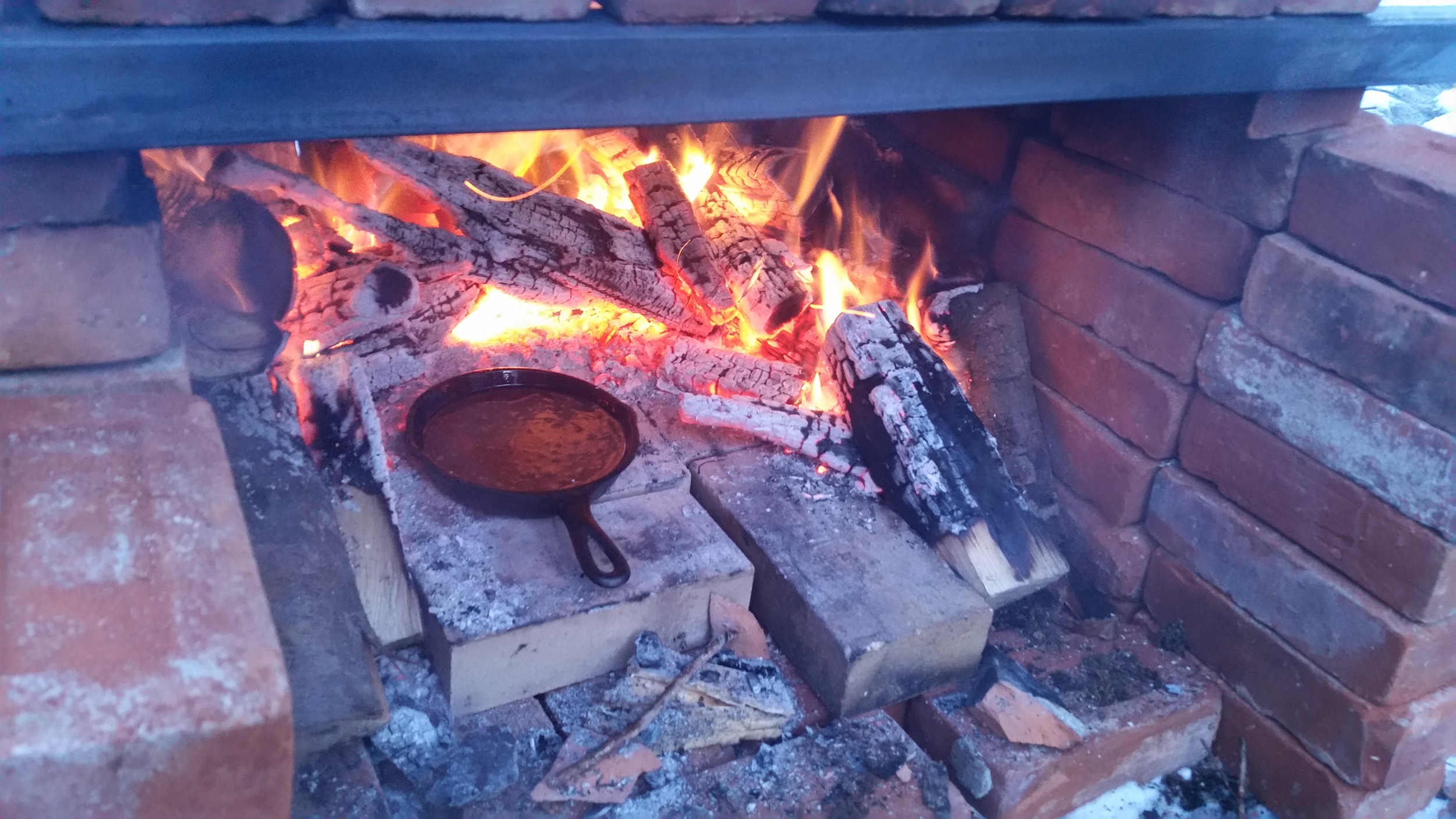 Sure, why not. Brick-oven, cast-iron, wood-fired brownies. Attack of the hyphens.