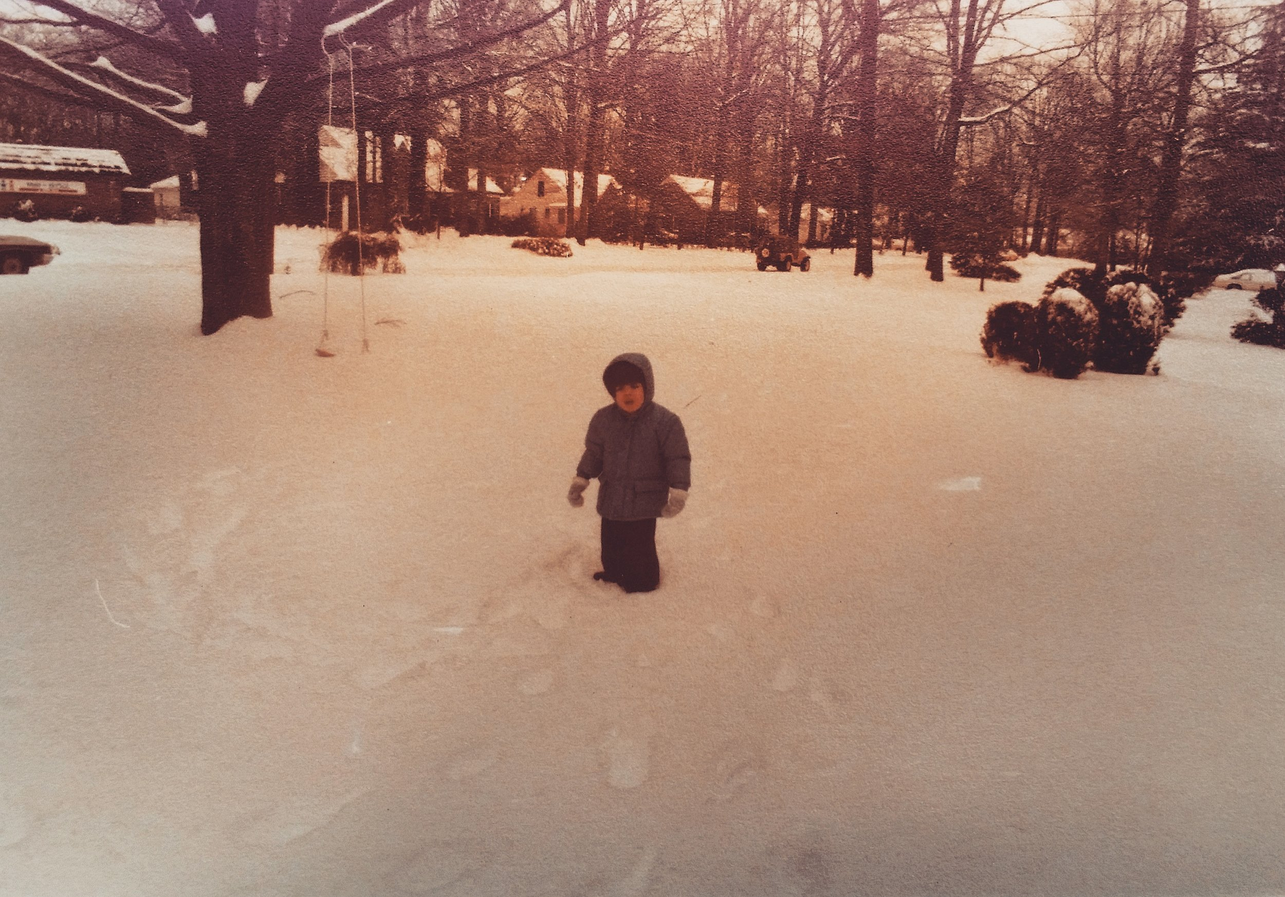 I was always this big of a wuss about winter.