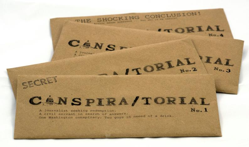 Conspiratorial— on Etsy