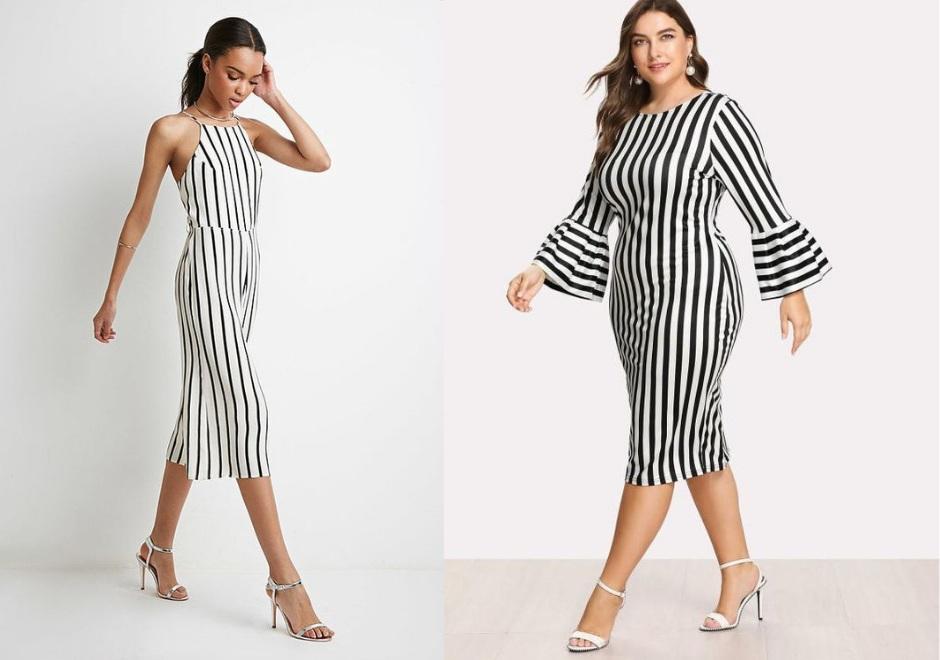 vestido Rayas horizontales