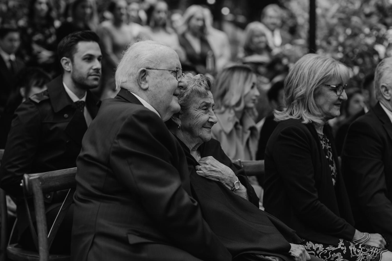 grandparents at weddings
